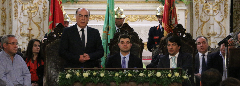Presidente da Câmara  marcou presença no encerramento das  Comemorações dos 515 Anos da Santa Casa da Misericórdia