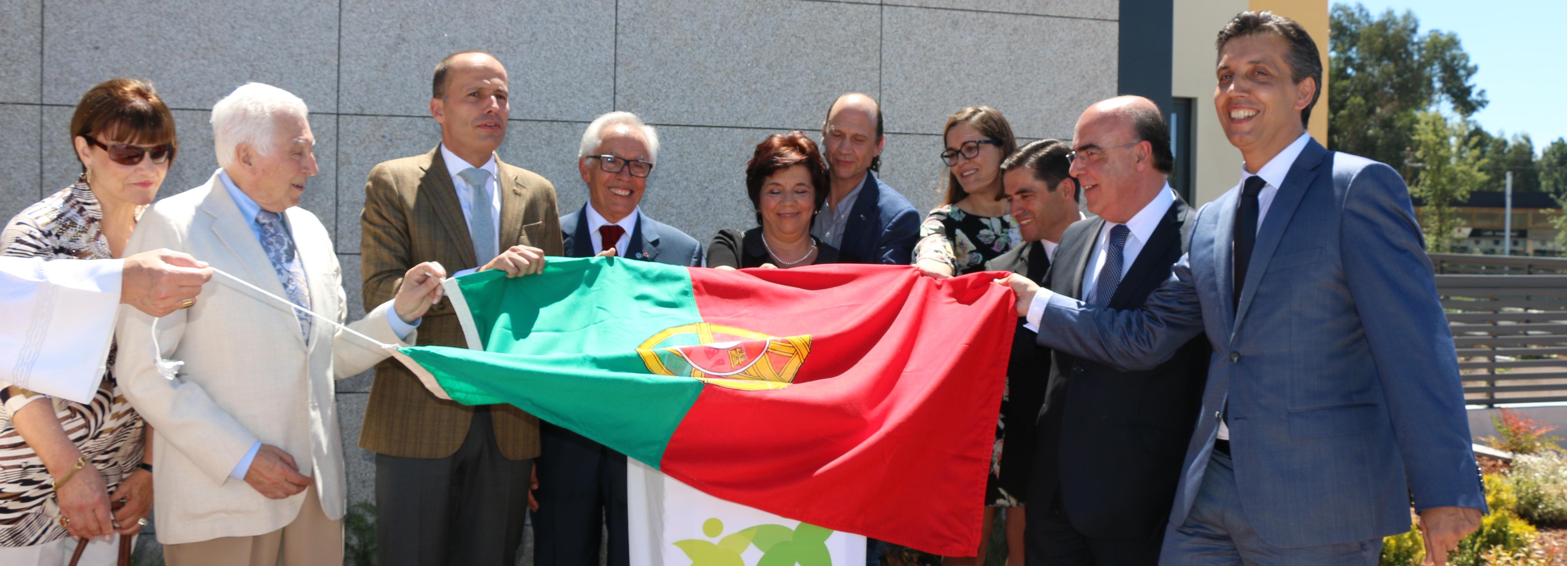 Presidente da Câmara Municipal de Barcelos marcou presença na inauguração do Centro Zulmira Pereira Simões