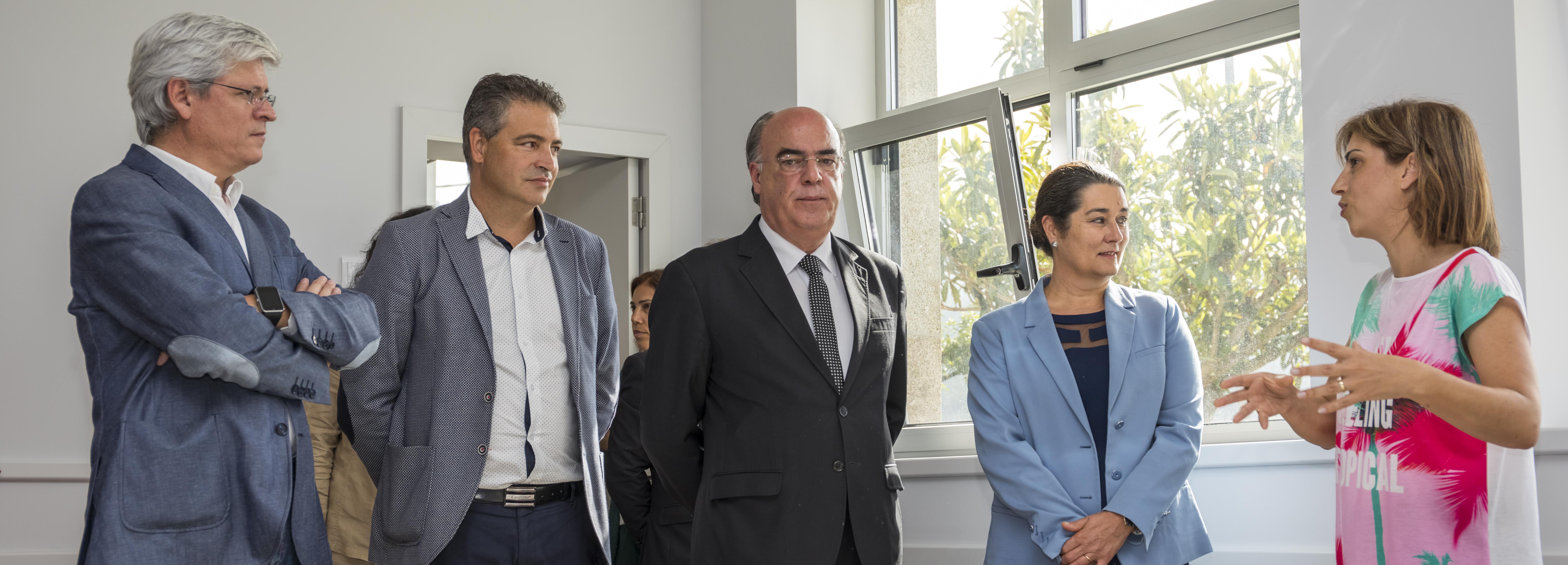 Presidente da Câmara inaugura recuperação e ampliação da Escola do Bárrio, em Roriz, e da EB1 de Gueral na cerimónia de abertura do ano letivo 2018/2019