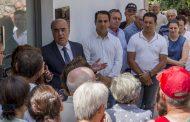 presidente da câmara inaugurou casa mortuária d...