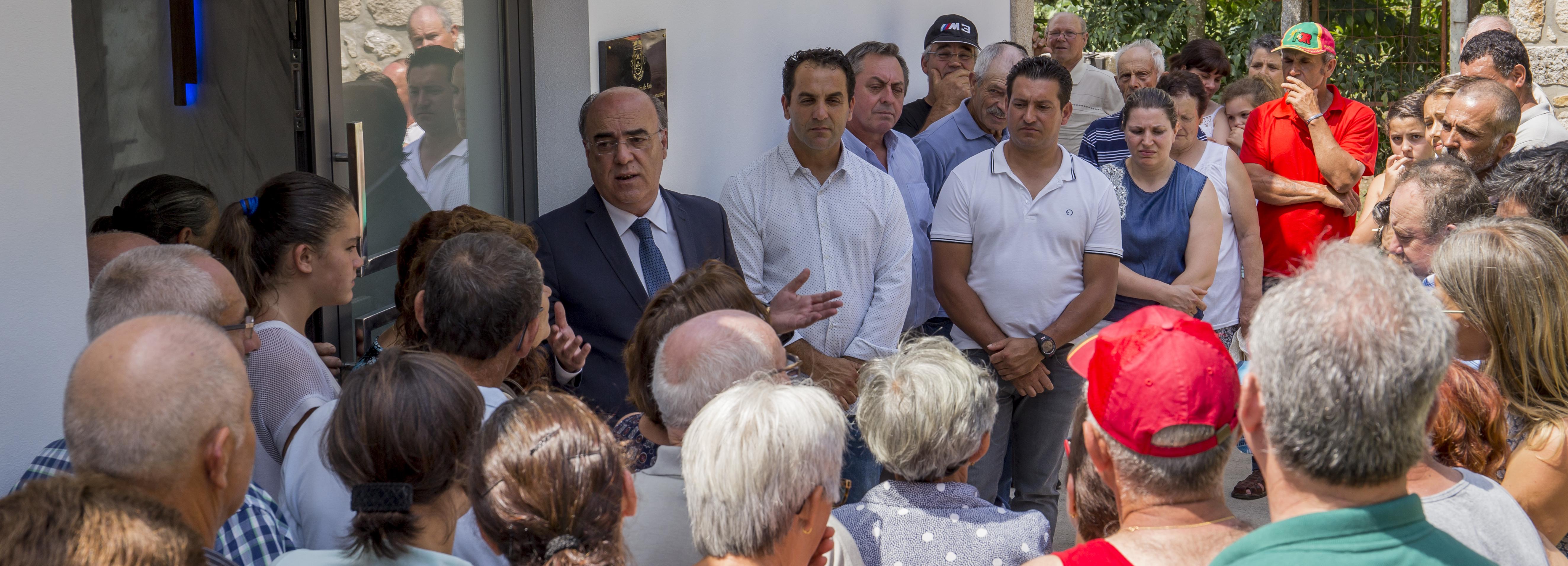 Presidente da Câmara inaugurou Casa Mortuária de Airó