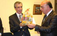 presidente da câmara recebe governador rotário