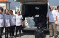 vinte e uma toneladas de resíduos foram recolhi...
