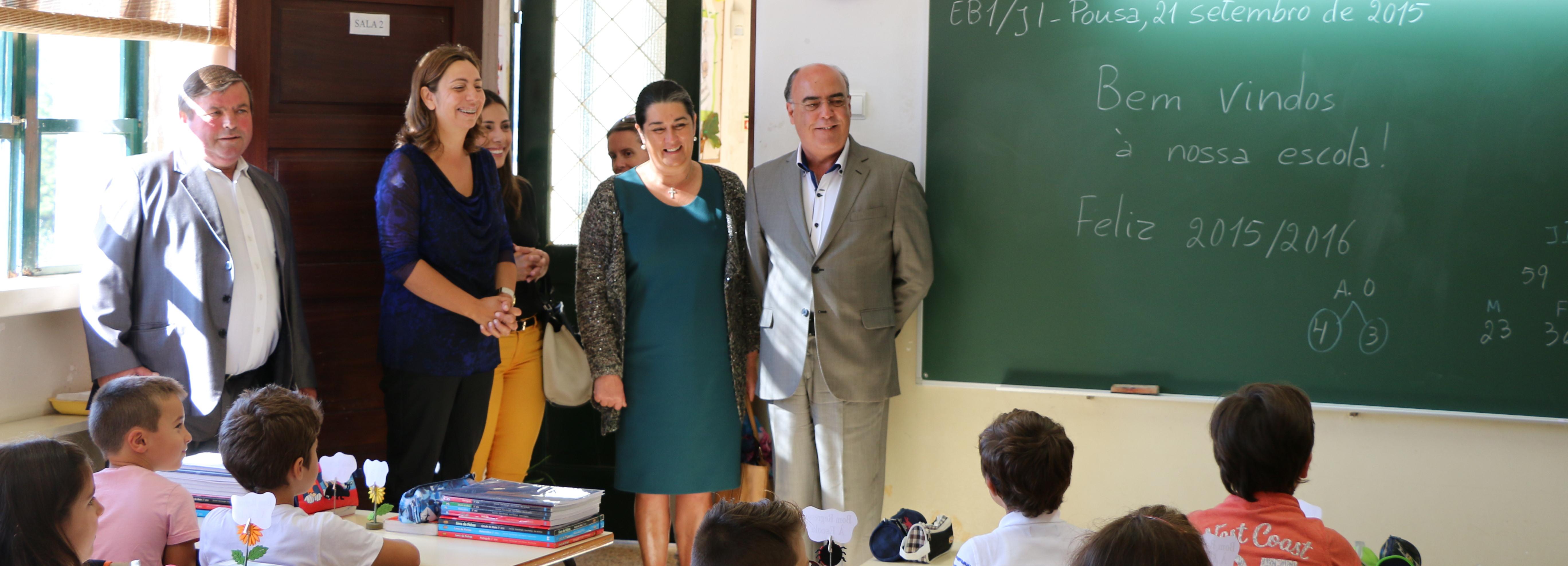 Câmara Municipal de Barcelos assinala abertura do ano letivo na Escola EB1/JI da Pousa