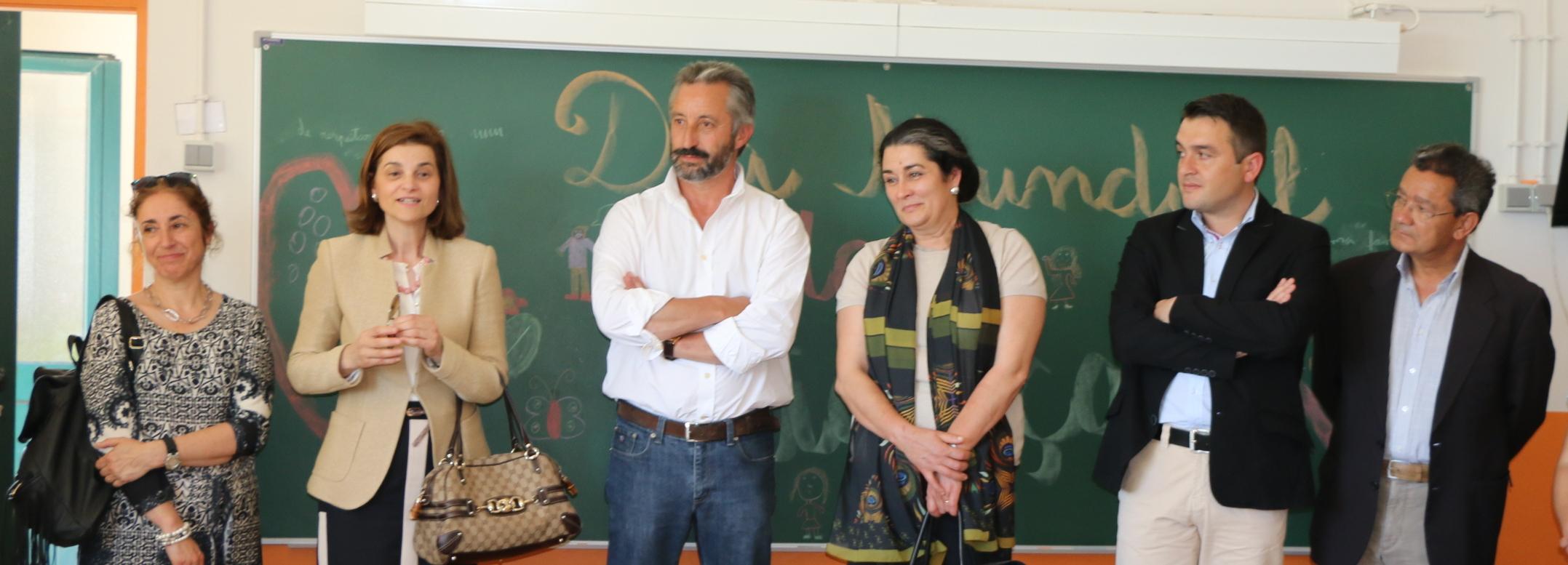 Inauguração do parque escolar em Silveiros
