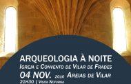 arqueologia à noite visita igreja e convento de...