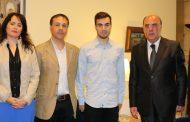 campeão do mundo barcelense recebido no município