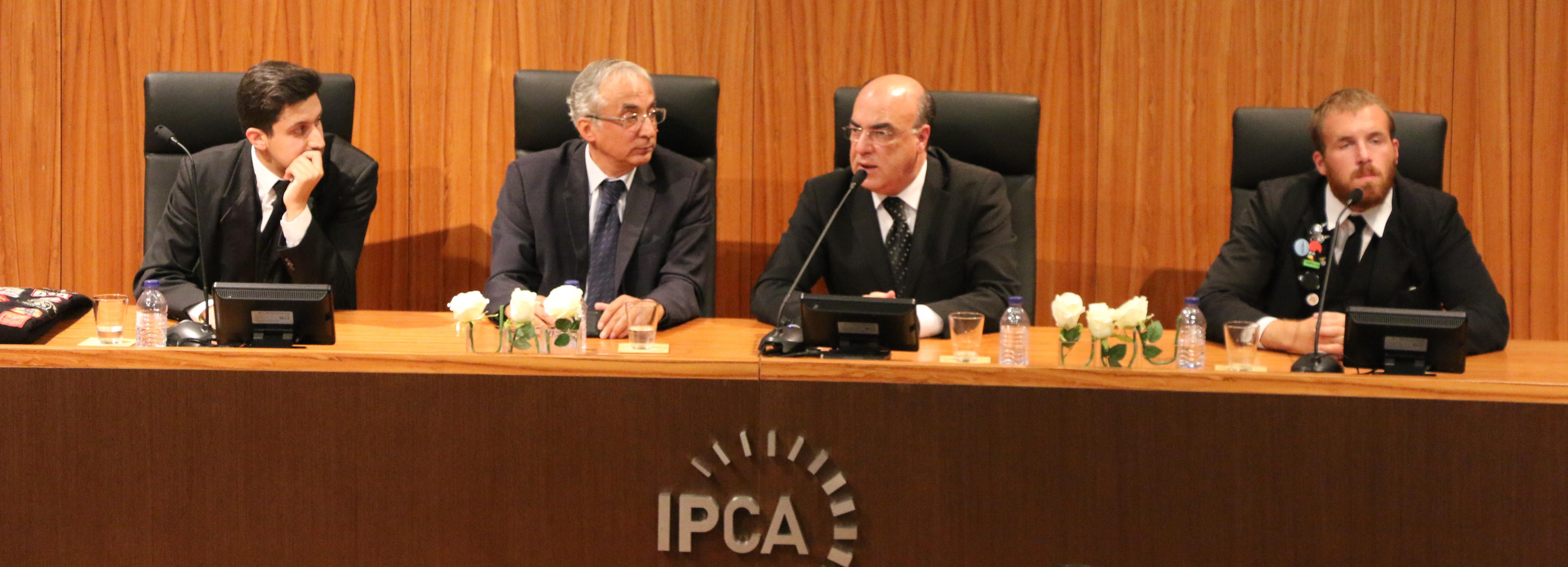 Presidente da Câmara presente na receção aos novos alunos do IPCA