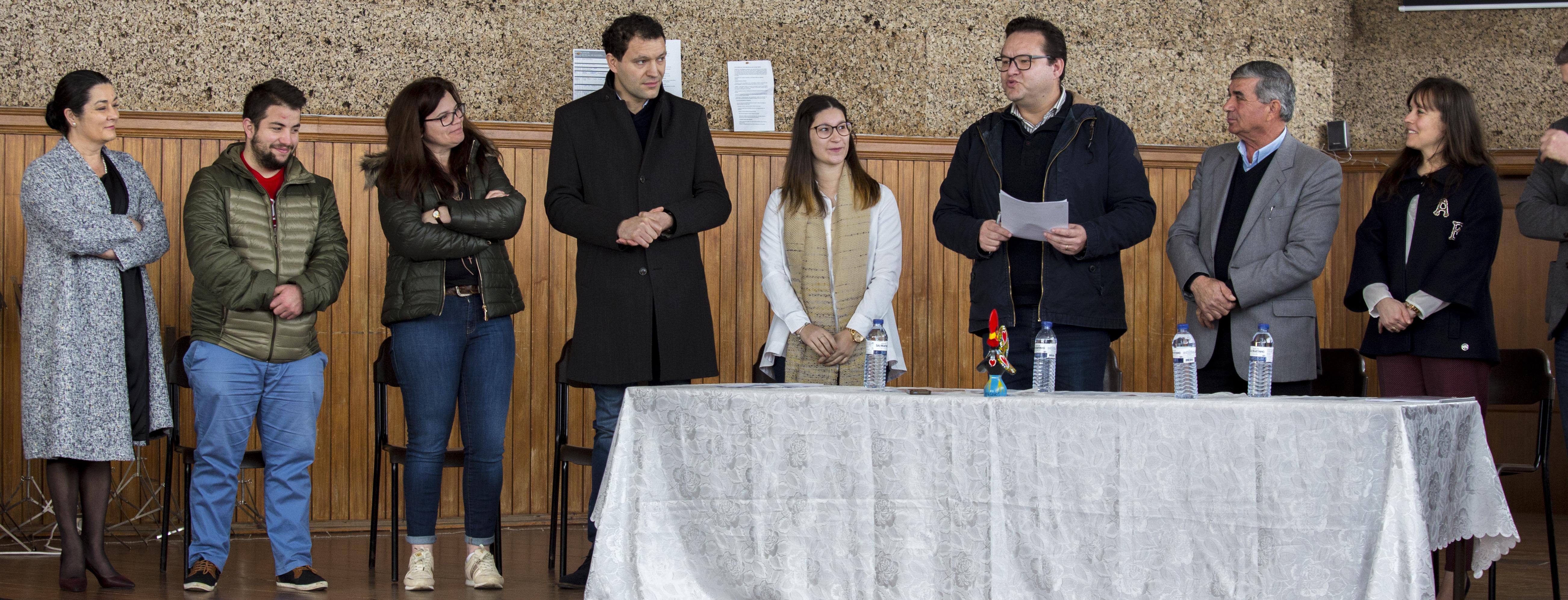 Banda de Oliveira deu posse aos novos órgãos sociais