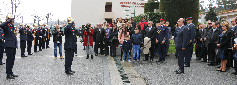 Câmara Municipal reafirma apoios aos Bombeiros de Viatodos e a todas as corporações do concelho