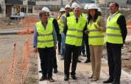 presidente da câmara visitou obras da rua de sa...