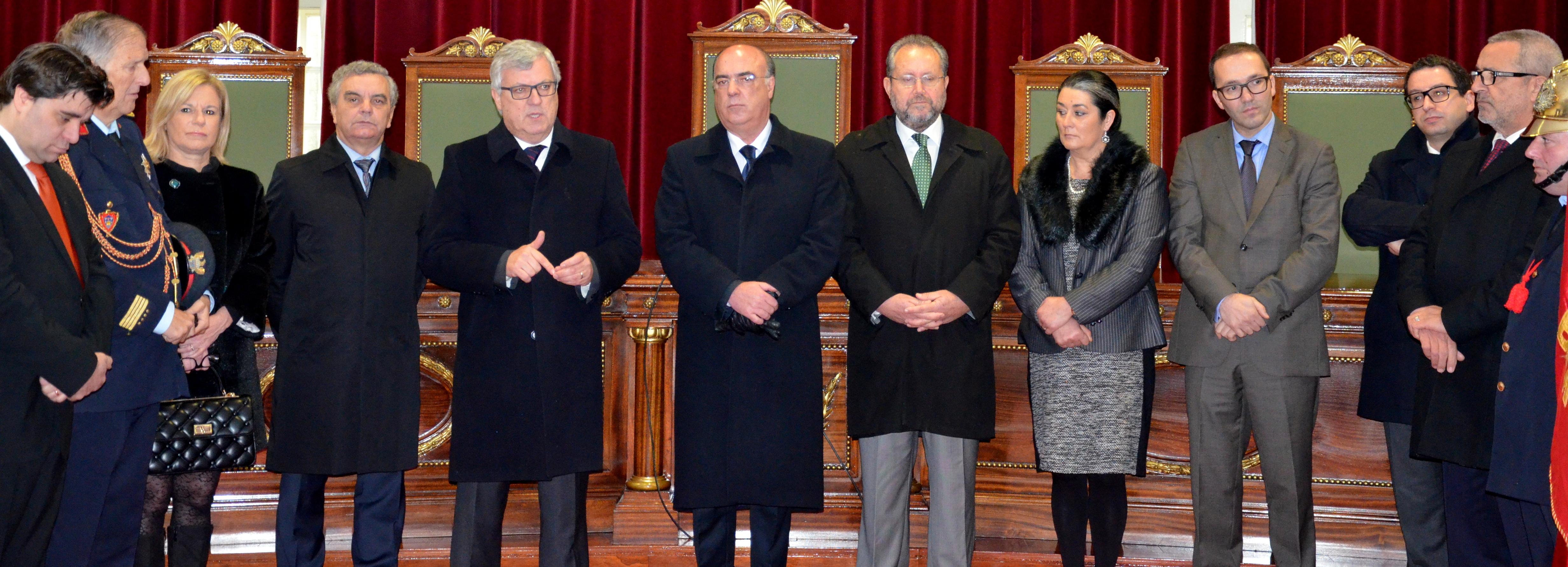 Câmara Municipal recebe Bombeiros Voluntários de Barcelos nas comemorações do 133º Aniversário
