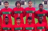 seleção nacional de futebol de sub-19 joga no e...