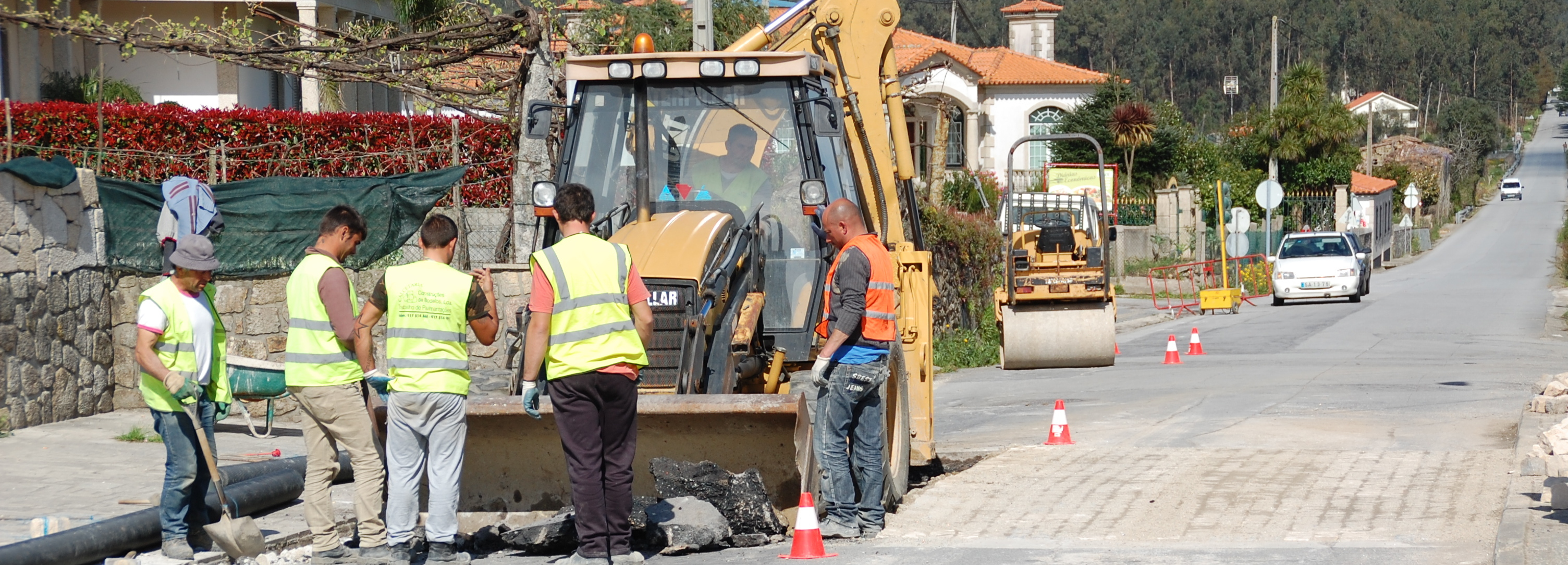 Roriz melhora segurança na via principal da Freguesia e lança obra de pavimentação de caminho em Quiraz