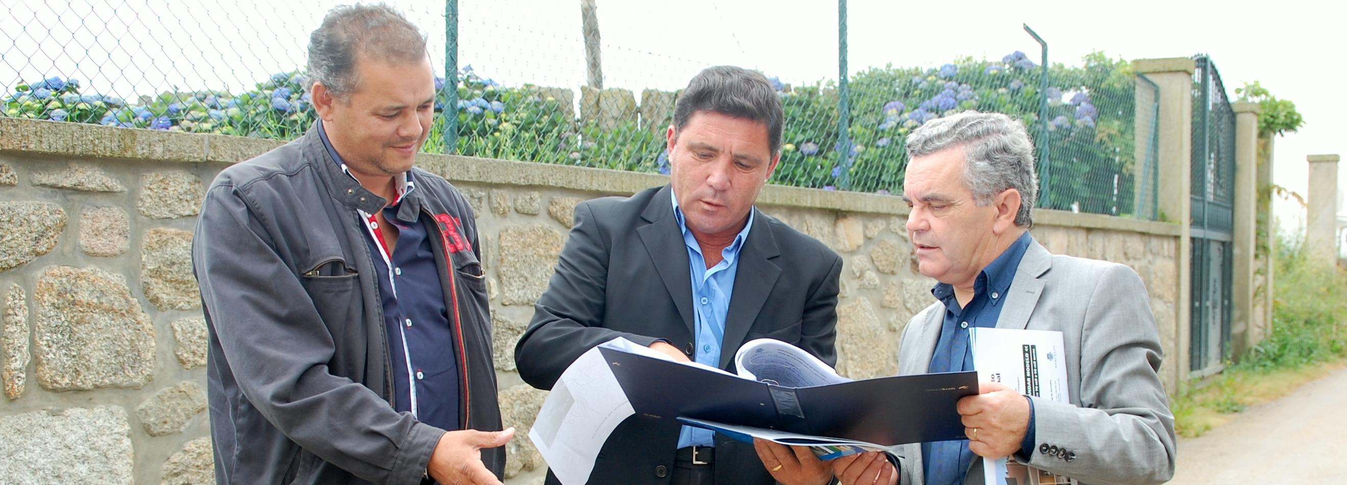 Milhazes inicia obras de requalificação de caminhos no valor de cerca de 90 mil euros