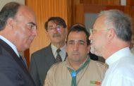 presidente da câmara visitou centro paroquial d...