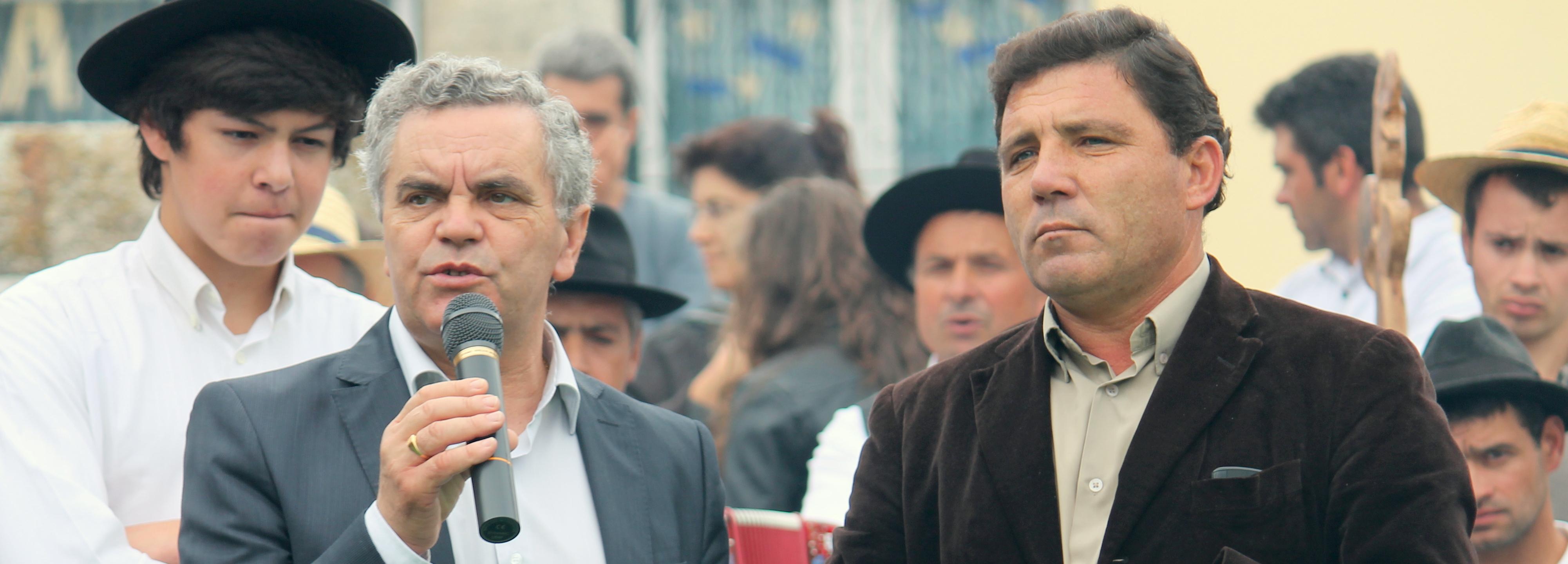 Vice-presidente da Câmara nas comemorações do dia da freguesia em Milhazes