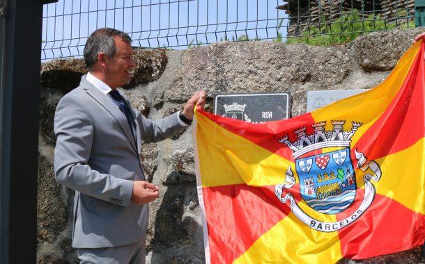 presidente da câmara inaugurou rua 25 de abril ...