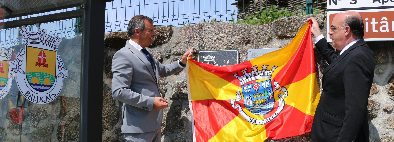 Presidente da Câmara inaugurou Rua 25 de Abril em Balugães