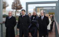 ministro da economia inaugurou acesso pedonal a...