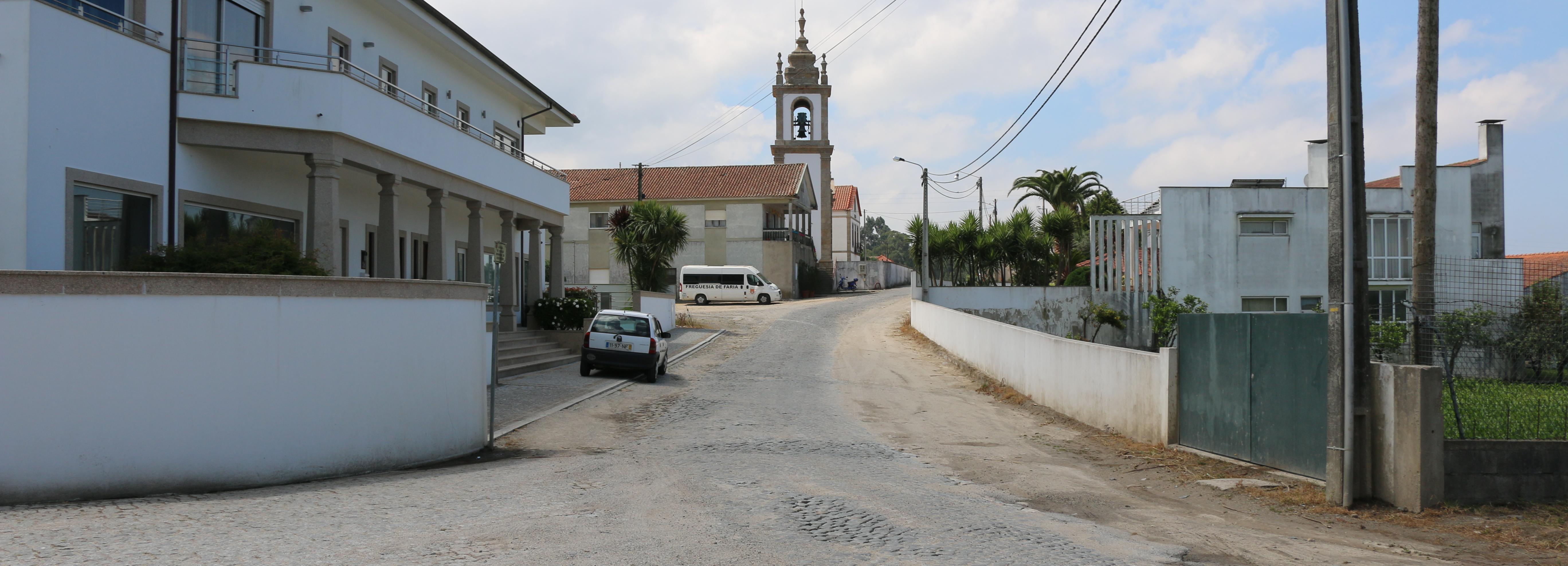 Projeto de beneficiação da estrada entre Milhazes e Faria está pronto e vai custar 1,7 milhões de euros