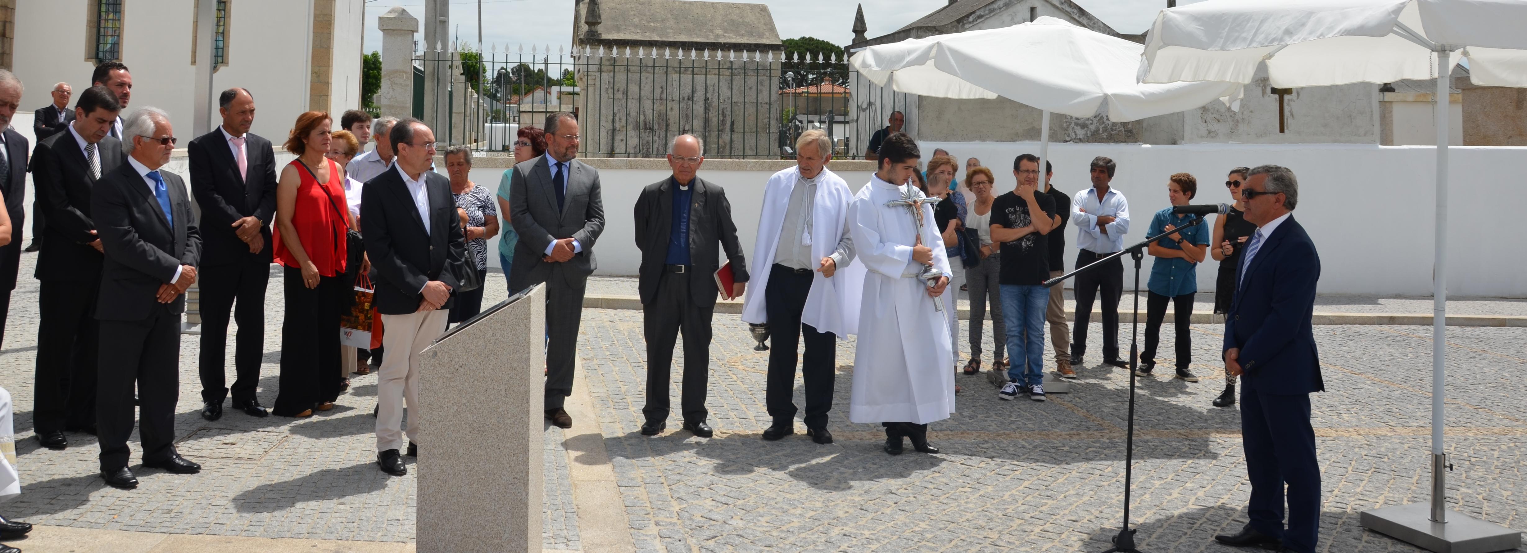 Tamel S. Veríssimo inaugura requalificação da zona envolvente da Igreja Paroquial