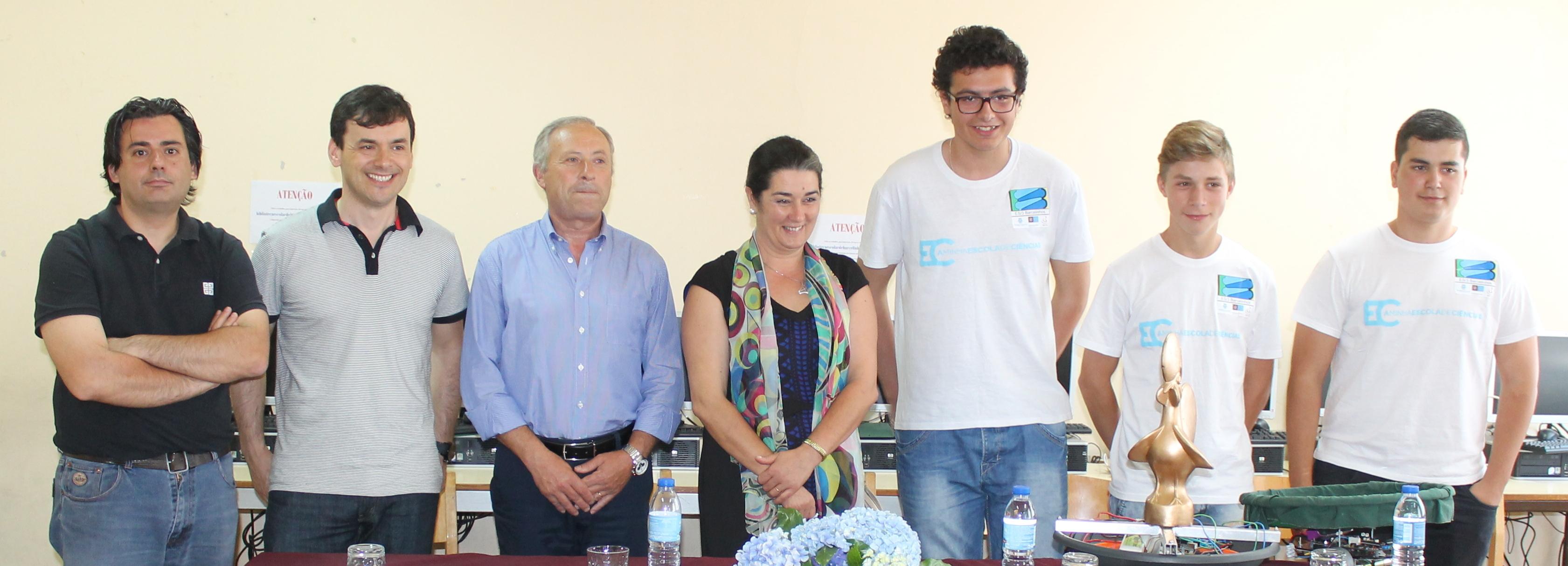 Câmara apoia deslocação ao Brasil do Clube de Robótica da Secundária de Barcelinhos