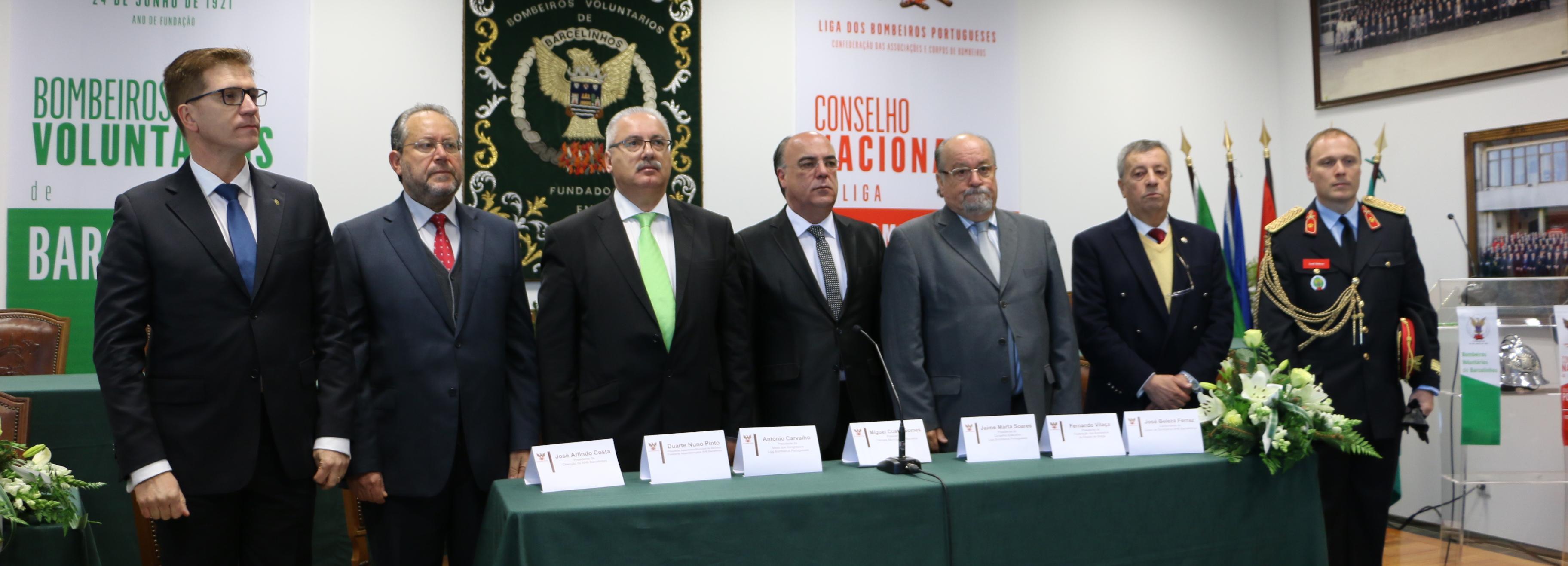 Conselho Nacional da Liga dos Bombeiros Portugueses decorreu em Barcelinhos