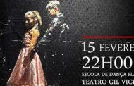 dança no teatro gil vicente no sábado, 15 de fe...