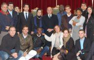 presidente da câmara recebeu alunos do mba atlâ...