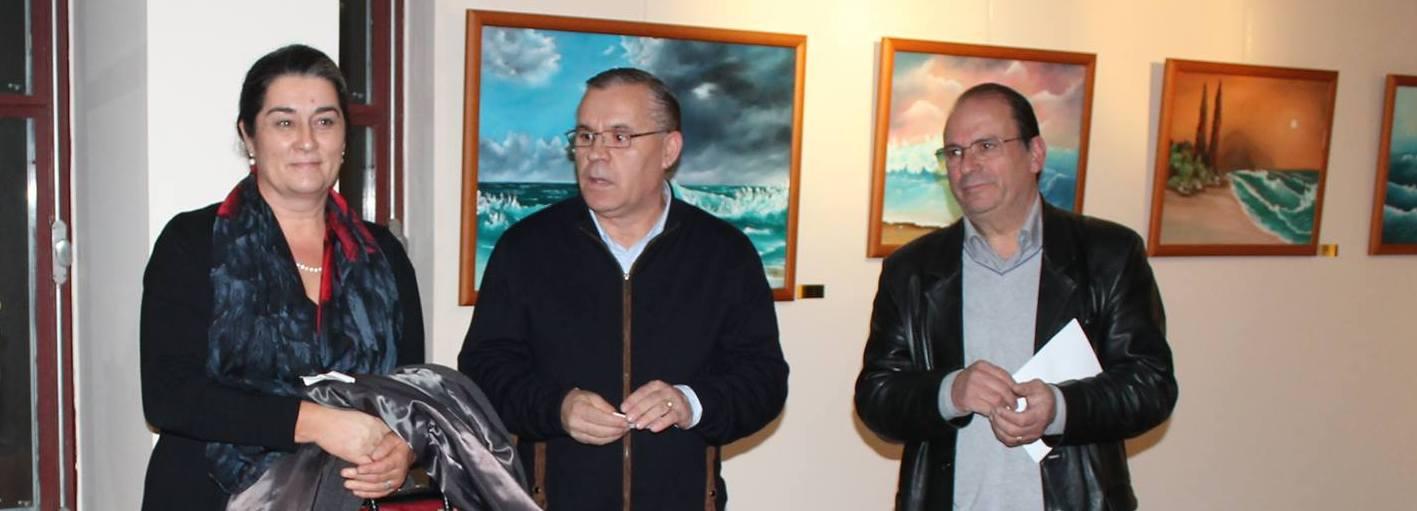 Exposição de pintura de António Miranda na Biblioteca Municipal