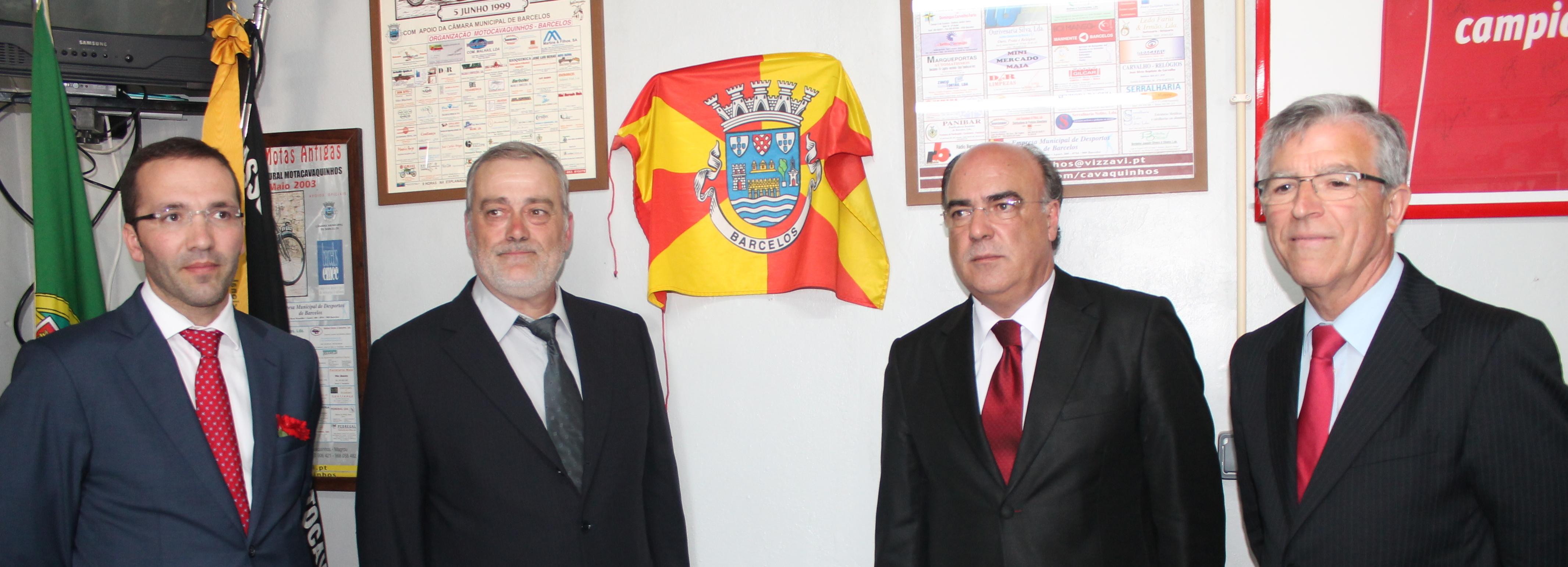 Presidente da Câmara inaugura sede da MotoCavaquinhos em dia de aniversário da associação