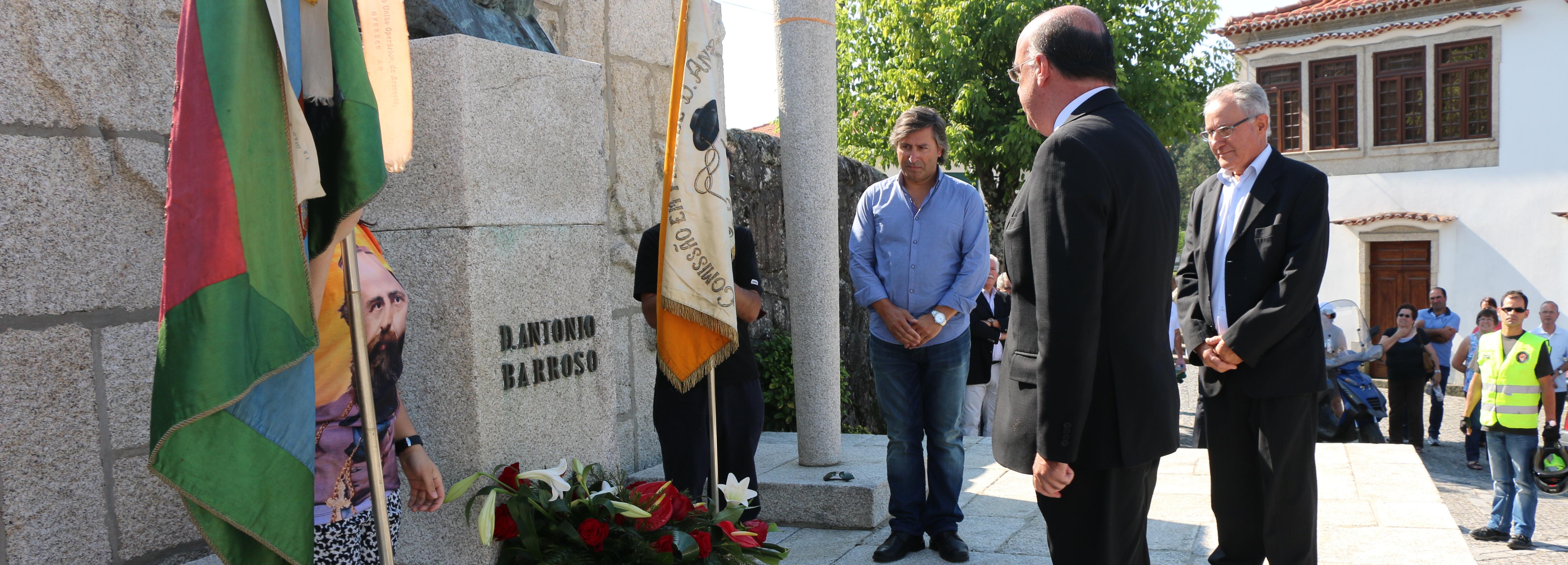 Centenas de pessoas na romagem anual a D. António Barroso