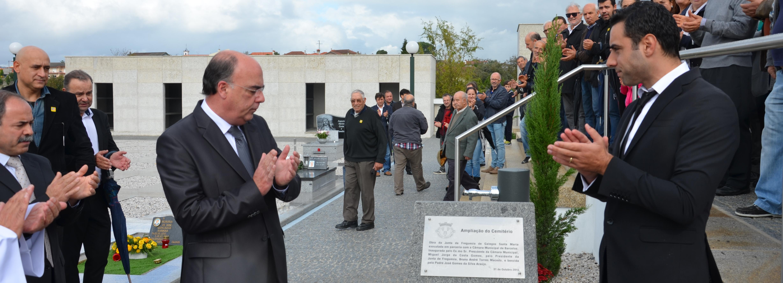 Galegos Sta. Maria inaugurou ampliação do cemitério paroquial