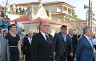 presidente da câmara presente nas festividades ...