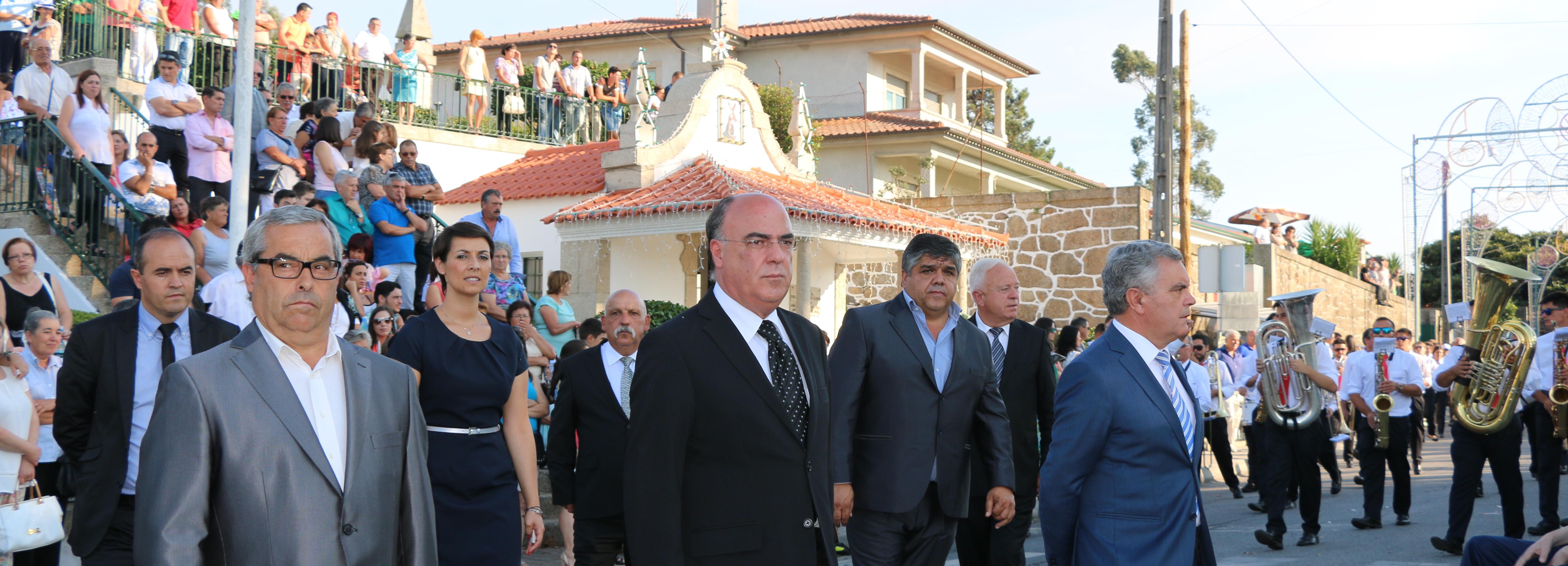 Presidente da Câmara presente nas festividades em honra de Nossa Senhora das Dores