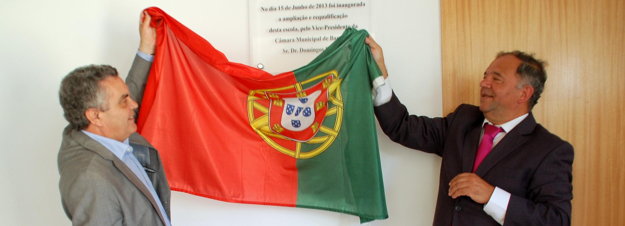 Vice presidente da Câmara inaugurou ampliação e requalificação da EB1 de Alheira