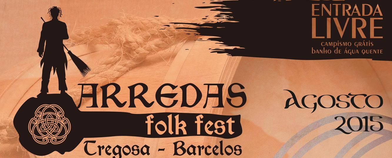 Arredas Folk Fest entra em contagemdecrescente!