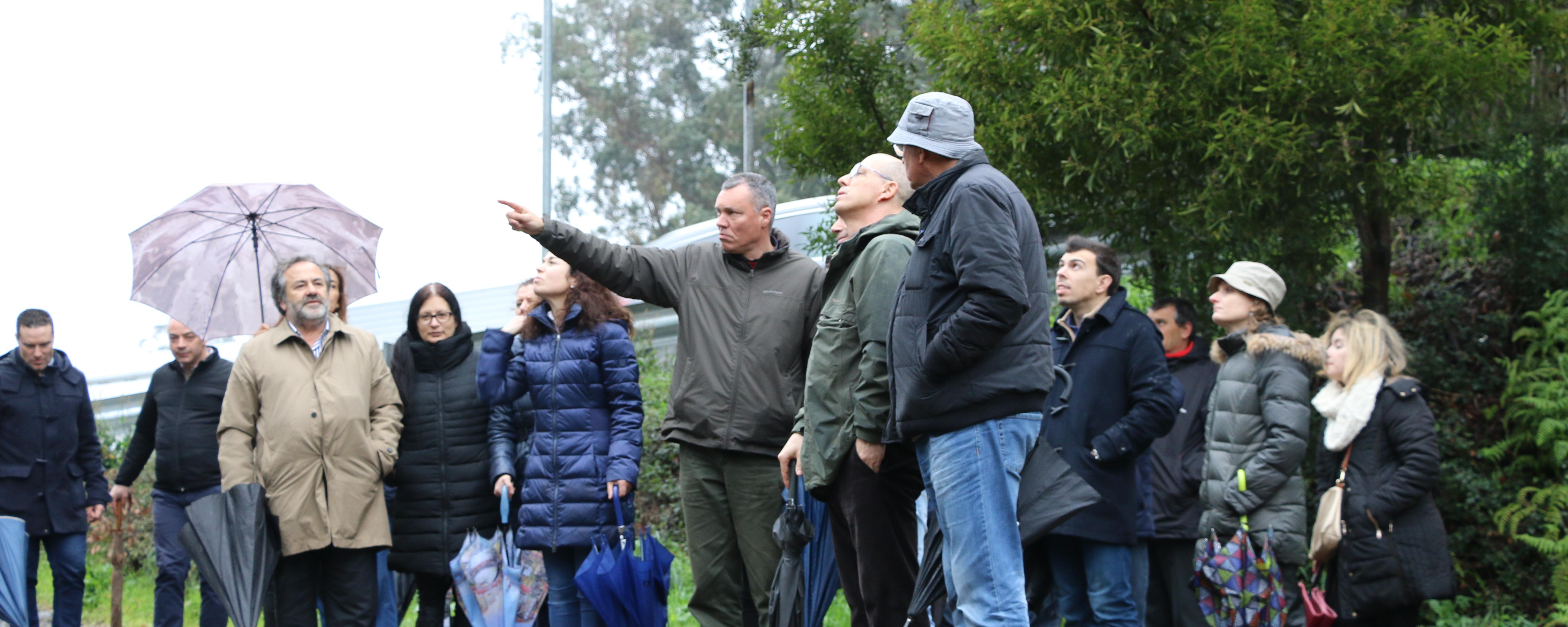 Técnicos da Câmara Municipal em ação de formação sobre limpeza florestal