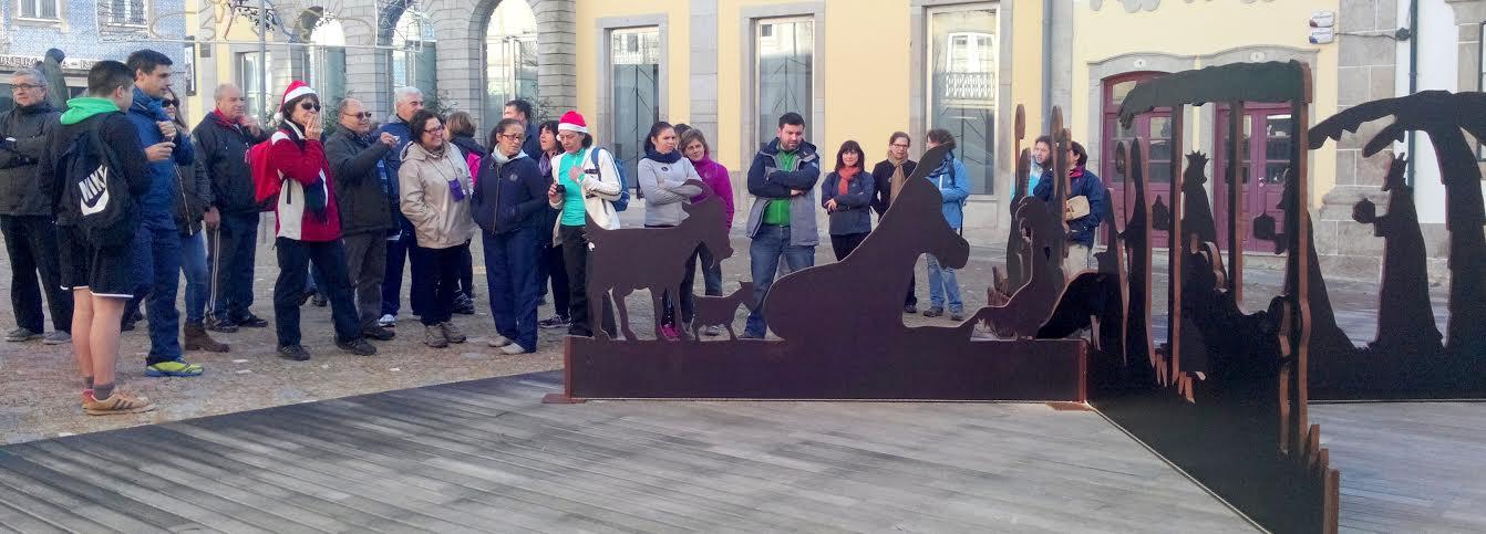 """Rota dos Presépios encerrou programa """"Caminhar para Conhecer Barcelos"""