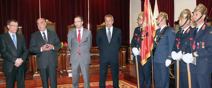 Presidente da Câmara recebeu Bombeiros de Viatodos nas comemorações do 28.º aniversário da corporação