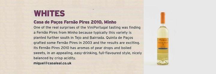 Vinho produzido em Barcelos no Top 10 nacional