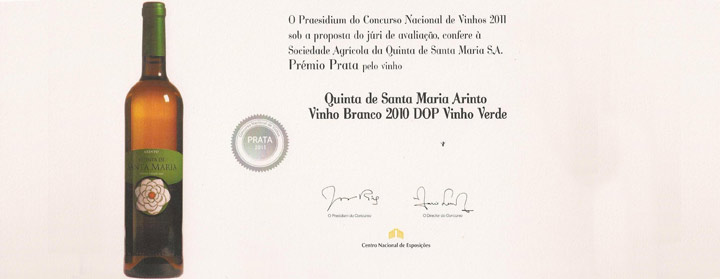 Vinhos de Barcelos premiados