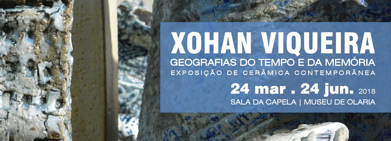 Xohan Viqueira em exposição no Museu de Olaria
