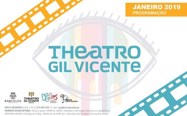 Janeiro com música, teatro, cinema e dança no Teatro Gil Vicente