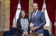 Embaixador da República Checa recebido na Câmara Municipal