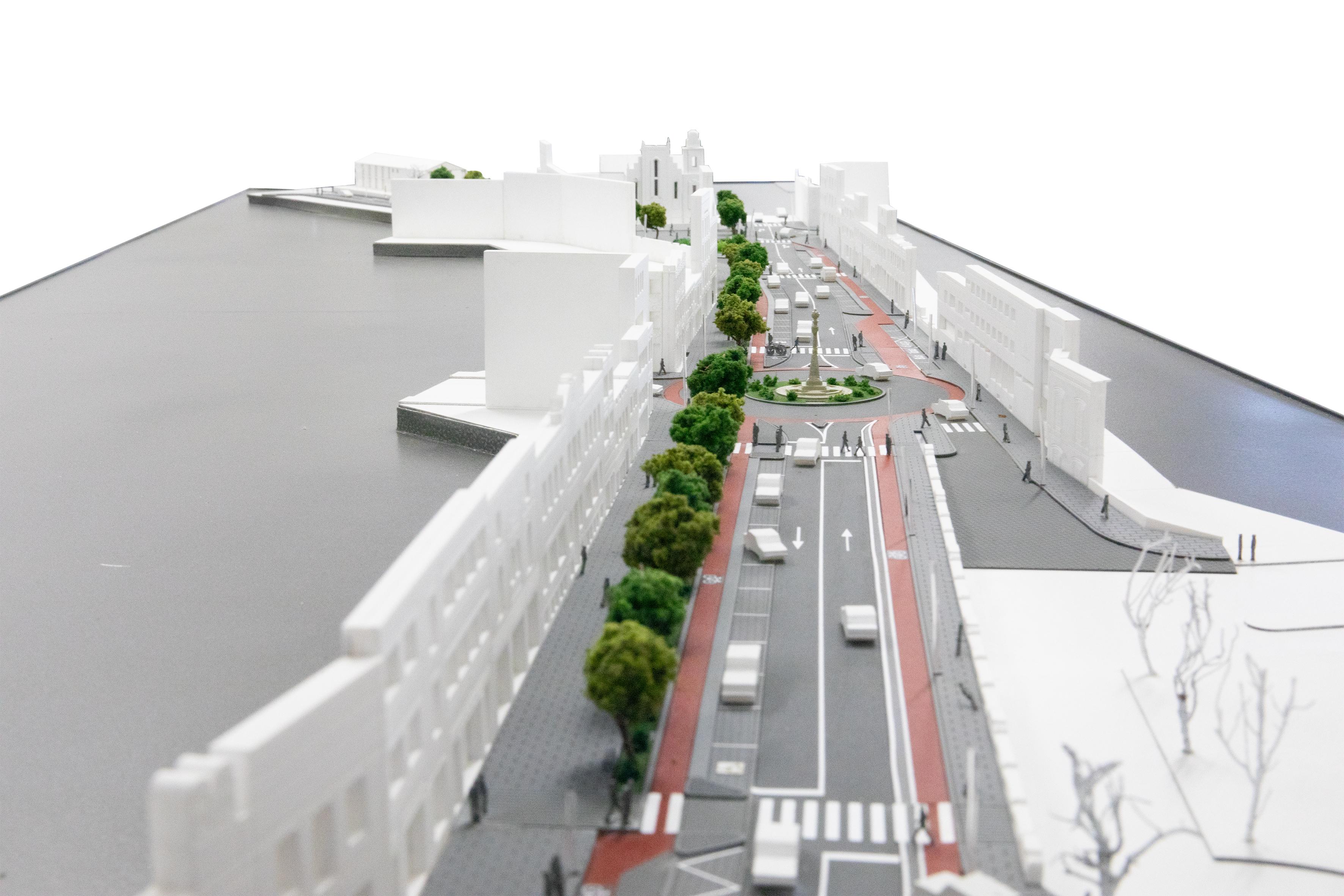 Projeto de requalificação da Avenida dos Combatentes da Grande Guerra aberto a consulta pública