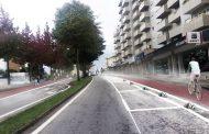 ciclovia urbana e melhoria das paragens com inv...