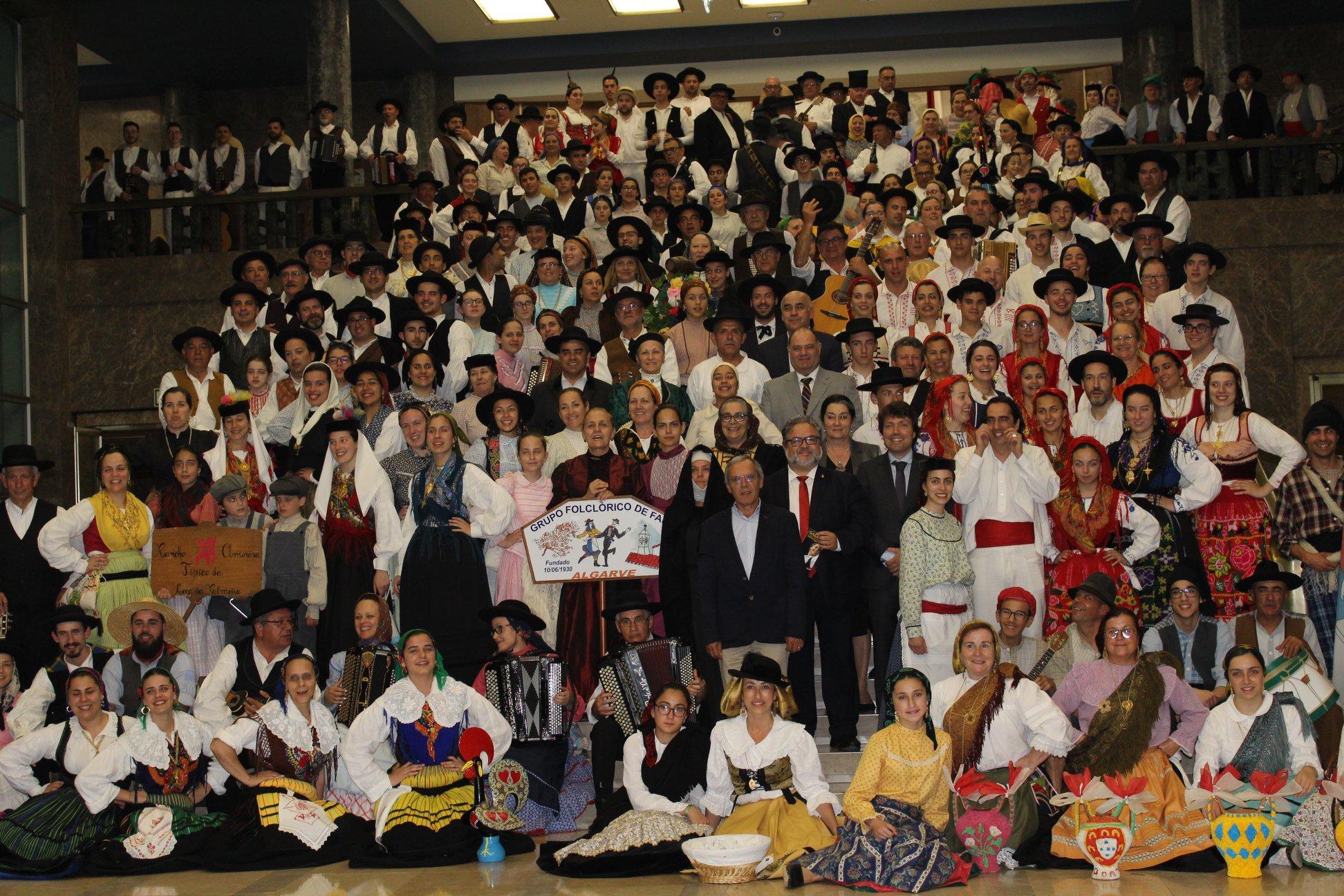 Festival Internacional de Folclore do Rio na Gala CIOFF em Lisboa