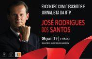 José Rodrigues dos Santos, escritor e jornalista da RTP, na Biblioteca Municipal